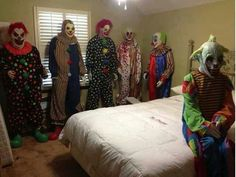 These are some freaky clowns!