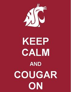 Go Cougs!!! You have no idea how excited I was to see this pop up on pinterest