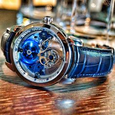 Majestic royal blue from Ulysse Nardin