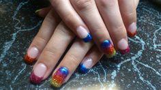 Love glitter! Glitter, Nail Art, Nails, Painting, Beauty, Beleza, Ongles, Finger Nails, Paintings