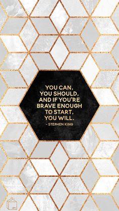 Desktop Wallpaper: June 2016 by Elisabeth Fredriksson Marble Desktop Wallpaper, Inspirational Desktop Wallpaper, Motivational Wallpaper, Mac Wallpaper, Macbook Wallpaper, Trendy Wallpaper, Computer Wallpaper, Wallpaper Quotes, Wallpaper Backgrounds