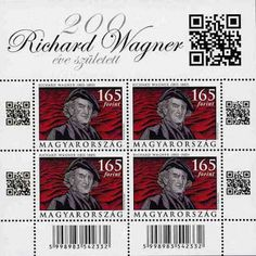 Singing Richard Wagner Stamps? - The Wagnerian