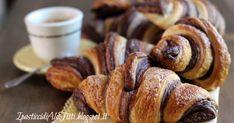 Croissant sfogliati bicolore croissant cornetti due colori cornetti colazione