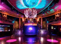 Dance area in London venue Cafe De Paris