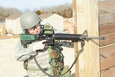 51-year-old mom holds her own during Basic Combat Training: Sgt. Sandra Coast, Company B, 2nd Battalion, 10th Infantry Regiment, aims her M16 rifle during the final days of her Basic Combat Training. The 51-year-old mother is one of the oldest Soldiers to have completed BCT and graduated Feb. 17, 2012. Read more here:   http://www.army.mil/article/73875/51_year_old_mom_holds_her_own_during_Basic_Combat_Training/