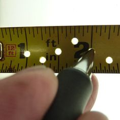 Easy to Make Precision Tape Measure (I MADE ONE ONCE ! SOMEBODY BORROWED IT , YEP ! NEVER RETURNED IT !DB.)
