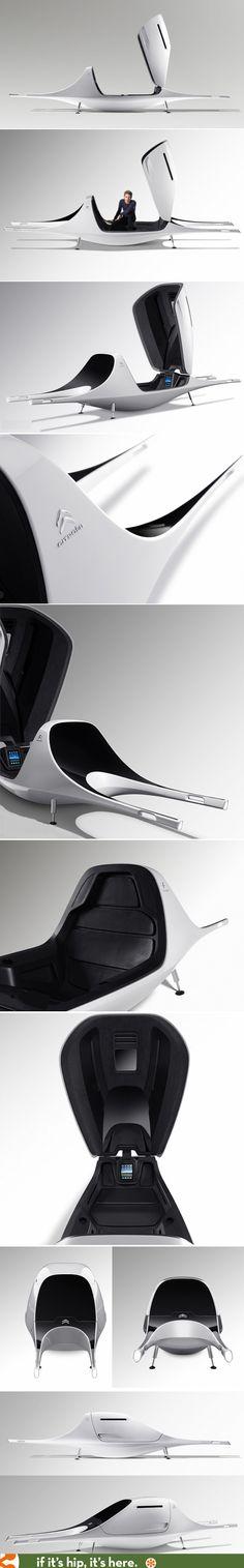 Designer Ora Ito and Citroen collaborate to design the Evomobil