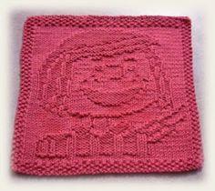Alli's Little World of Knitting: FREE PATTERN - Peppermint Patty Cloth
