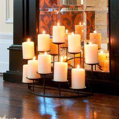 Harper Blvd Hanover 10-candle Candelabra   Overstock.com Shopping - The Best Deals on Candles & Holders