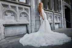 floor length bridal gown