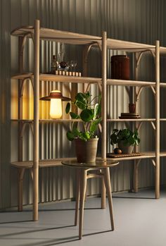 Dutch entrepreneur and former Moooi co-founder Casper Vissers has launched a new furniture and lighting brand called Revised. Eclectic Living Room, Living Room Decor, Shop Interior Design, Interior Design Living Room, New Furniture, Furniture Design, Joinery Details, Storage Design, Home Furnishings