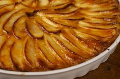 francuska tarta z jablkami