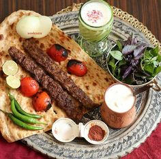 Kabab Koobideh ( ground beef ) & bffs!