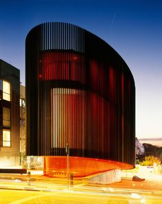 Gallery in Rosebank, Johannesburg, South Africa Contemporary Architecture, Amazing Architecture, Interior Architecture, Stairs Architecture, Contemporary Art, Building Design, Building Facade, South Africa, Buildings
