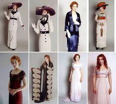 costume test Titanic Kate Winslet as Rose DeWitt Bukater design: Deborah Lynn Scott Costume Titanic, Titanic Dress, Titanic Movie, Period Costumes, Movie Costumes, Kate Winslet, Vintage Outfits, Vintage Dresses, Historical Costume