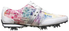 Ladies FootJoy Lopro Golf Shoes 2014 CLOSEOUT White/Mosaic 97159 New Womens in Sporting Goods | eBay
