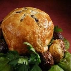 Beef Wellington - Classy, elegant in its individual serve and a pushover for the beginning Cook. Recipe indeed looks easy! Uk Recipes, Entree Recipes, Meat Recipes, Indian Food Recipes, Pastry Recipes, Dinner Recipes, Cooking Recipes, Beef Wellington Recipe, Indian Recipes