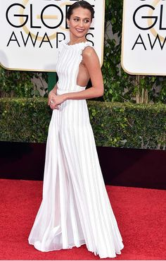 15 Dresses That Rocked the Golden Globes via @PureWow
