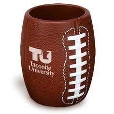 Football Can Cooler from www.schoolspiritstore.com