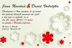 Svatební oznámení vzor 31