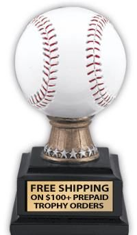 baseball trophy {idea} $4.95