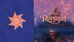 Tangled - Alternate Disney Blu-Ray Slipcover