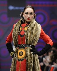 Mongolian Beauty F/W 2012 Runway- Toronto Fashion Week