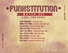Contraportada digital del cd Funkstitution por La Mottora