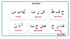 Beginners Arabic - Lesson 05 - Short Vowels Arabic Lessons, Short Vowels, Arabic Words, Teaching, Learning, Education, Teaching Manners
