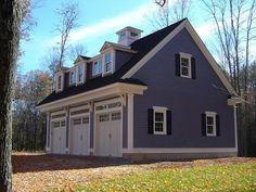 Garage Plan 64902 | Country Craftsman Farmhouse Narrow Lot ...