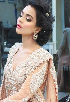 "shaadifashion: "" Humaima Malick in Mina Hasan """