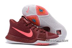 5f4a4c2d319d Nike Kyrie 3 Pink Red Orange White TopDeals