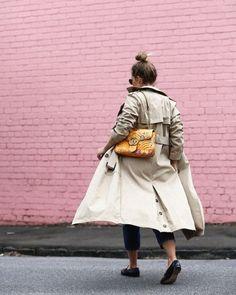 See Want Shop Blogger Lisa Hamilton | Yellow Gucci |