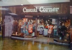 Casual Corner... my favorite clothing store in the 70s.
