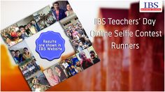 IBS Teachers' Day Selfie Contest Runners: http://ibsindia.org/selfieContest_winners/ #IBSAT2016