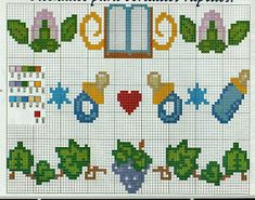 Blog com uma coleção de gráficos de ponto cruz e para quem ama a arte de bordar.
