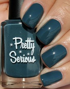 Pretty Serious Cosmetics Goth Pet Names Collection Swatches & Review