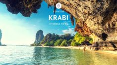 Krabi is one of Thailand's hottest destinations for this 2017 holiday season. Here are 3 things to do in 3 days in Krabi that will leave you wanting more!