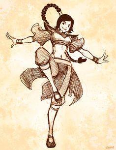 Ty Lee Sketch by GENZOMAN on deviantART