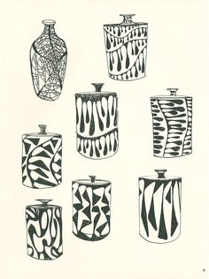 Aaron Bohrod's mid-century pottery sketchbooks