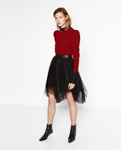 In Skirt 18 TullePleated Fantastiche Immagini Gonna Su Outfit SUMzLVqpG