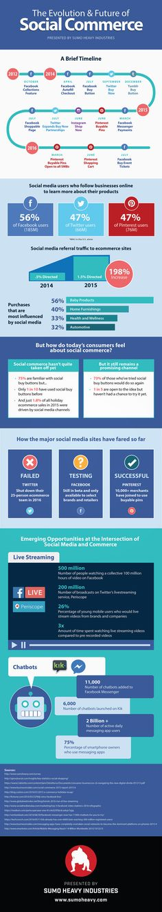 The State of Social Commerce (Infographic)