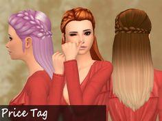 Mikerashi: Price Tag Hair - Sims 4 Hairs - http://sims4hairs.com/mikerashi-price-tag-hair/