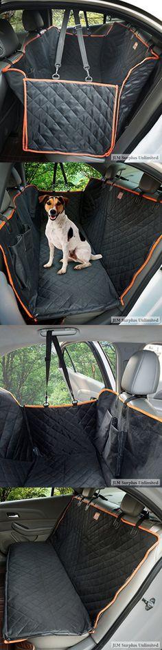 Lantoo Dog Seat Cover Large Back Pet Hammock for Cars Trucks SUVs With Nonslip for sale online Dog Seat Covers, Dog Car Seats, Grey Dog, Small Breed, Back Seat, Large Dogs, Dog Toys, Hammock, Louis Vuitton Monogram