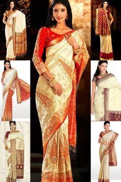 Wedding Silk Saree,wedding saree,wedding saree,indian wedding sarees,designer sarees,bandhani sarees,wedding lenghas,indian saree,Silk Saree...