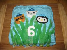 Octonauts Birthday Cake & Ideas