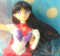 2003 : Japanese Anime / Shojo Manga : Bandai Toys : 10th Anniversary : Sailor Moon World : New Doll Collection : Sailor Moon / Sailor Mars