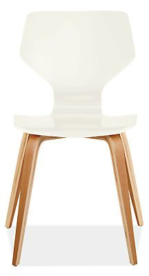 Pike Chair with Wood Base - Andover Walnut Table with Pike Chairs - Dining - Room & Board
