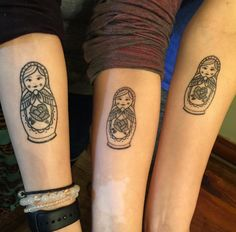 Can you think of any better way to show this bond to the outside world than getting inked matching sister tattoo designs on your skin? Tattoos are a Cute Sister Tattoos, Sister Tattoo Designs, Matching Sister Tattoos, Sibling Tattoos, Tattoo Designs For Women, Cute Tattoos, Small Tattoos, Tattoos For Women, Tattoo Sister