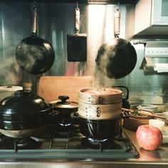 makoroさんの、生活感,かまどさん,男前,和,キッチン,のお部屋写真